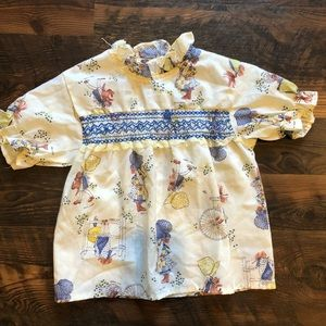 Holly Hobbie VNTG ✨ 4T Girls Tunic Top